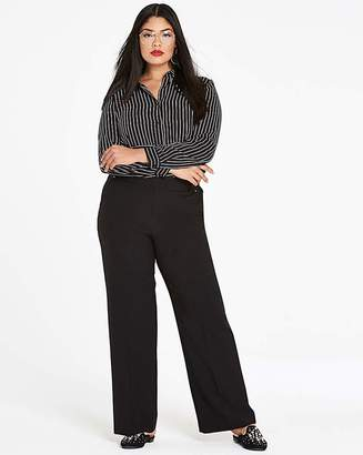 Fashion World Wide Leg Trousers Regular