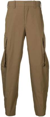 Neil Barrett drop-crotch cargo trousers