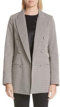 Co Diamond Jacquard Jacket