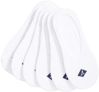 Sperry Men's Solid Canoe Liners, 6-Pack