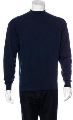 TSE Cashmere Mock Neck Sweater