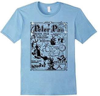 Disney Peter Pan A Traveler's Guide To Never Land T-Shirt