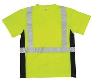 T-Shirt,Black Sided,Class 2,Lime,2XL ML KISHIGO 9114-2X