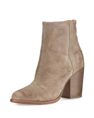 Rag & Bone Ashby Suede Ankle Boot, Stone $525 thestylecure.com
