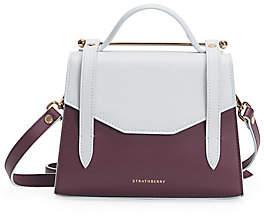 Strathberry Women's Mini Allegro Bi-Color Leather Satchel