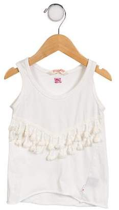 Munster Girls' Embroidered Sleeveless Top