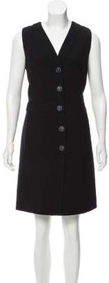 Chanel Paris-Dubai Wool Dress
