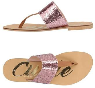 FOOTWEAR - Toe post sandals Cuplé