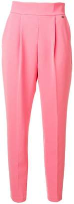 Elisabetta Franchi cropped high-waisted trousers