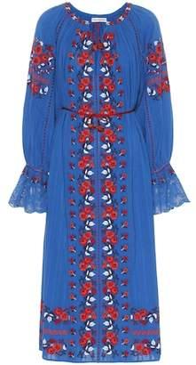 Ulla Johnson Filia embroidered cotton dress