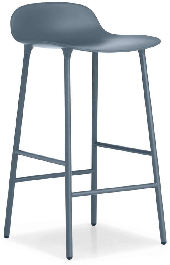Normann Copenhagen - Form Barhocker H 65 cm, Blau