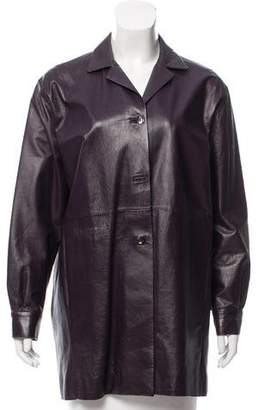 Shamask Lightweight Leather Jacket