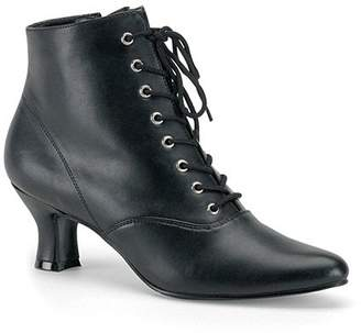 Funtasma by Pleaser Women's Victorian-35 Victorian Ankle Boot