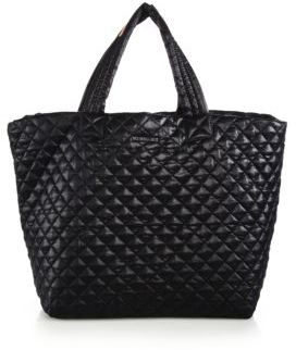 MZ Wallace Metro Large Quilted Nylon Tote $225 thestylecure.com