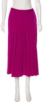Sonia Rykiel Pleated Wool Skirt