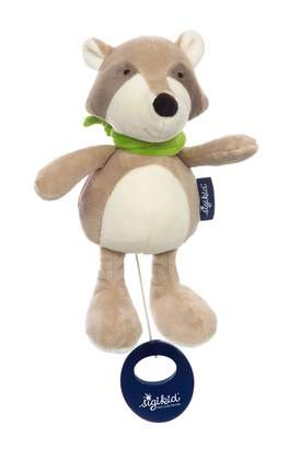 Sigikid 42332 Musical Toy Raccoon Blue/Beige
