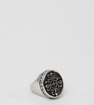 Reclaimed Vintage Inspired Signet Ring