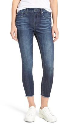 Women's Vigoss Chelsea High Waist Crop Skinny Jeans $59 thestylecure.com