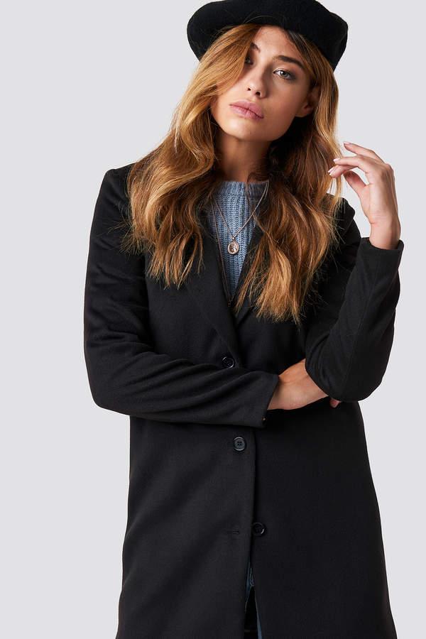 Linn Ahlborg X Classic Coat Black
