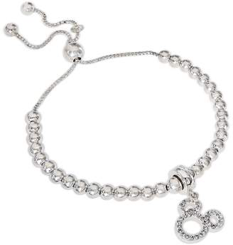 Disney Mickey Mouse Crystal Charm Bracelet