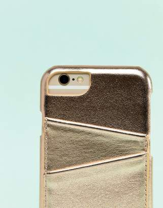 Cotton On Gold Cardholder iPhone Case