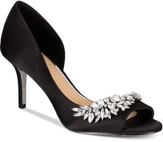 Badgley Mischka Melvina Evening Sandals Women Shoes