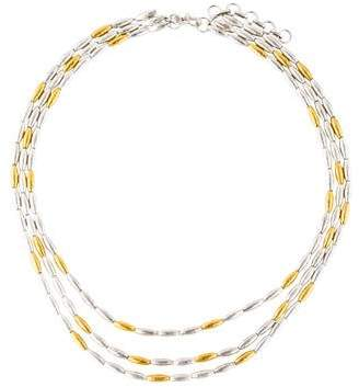 Gurhan Two-Tone Multistrand Necklace