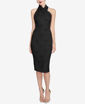 Rachel Roy Jacquard Sheath Dress