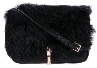 Elizabeth and James Cynnie Nano Shearling Crossbody Bag