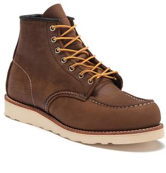 Red Wing Shoes 6-Inch Moc Toe Leather Boot