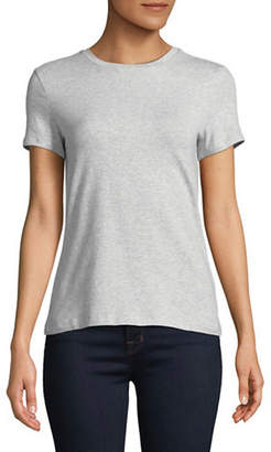 Lord & Taylor Petite Short-Sleeve V-Neck Tee