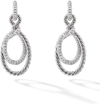 David Yurman Continuance drop diamond earring