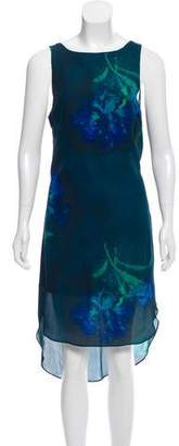 Haute Hippie Silk High-Low Dress