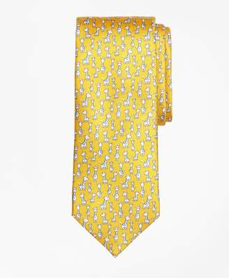 Brooks Brothers Giraffe Print Tie