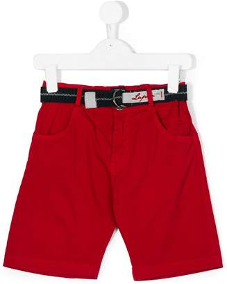 Lapin House belted bermuda shorts