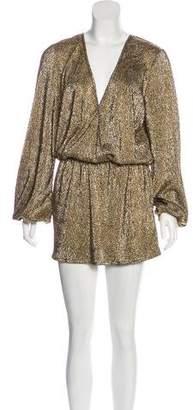 Alexis Cloqué Mini Dress