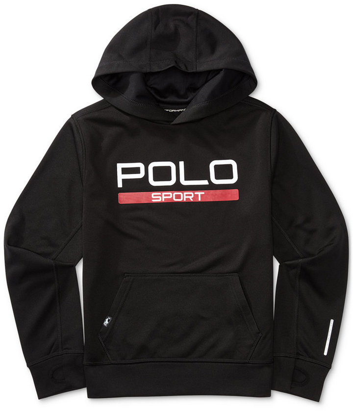 Ralph Lauren Polo Sport Fleece Hoodie, Big Boys (8-20)