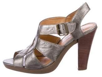 KORS Leather Multistrap Sandals