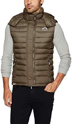Superdry Men's Fuji Double Zip Vest