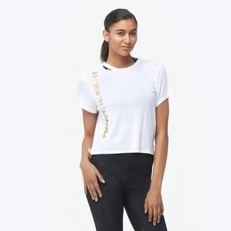 Sam Edelman Cropped Rip T-Shirt - Women's