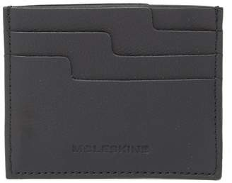 Moleskine Lineage Leather Card Case Wallet