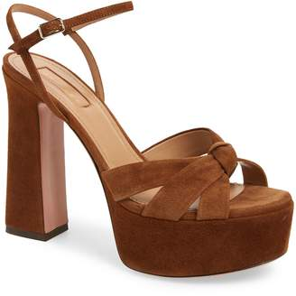 Aquazzura Baba Platform Sandal
