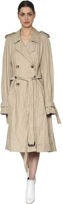 J.W.Anderson Cotton Blend Twill Trench Coat