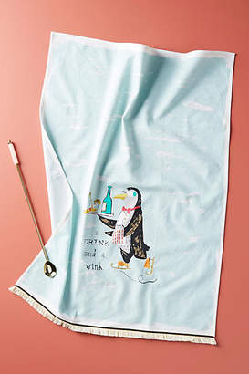 Anthropologie Penguin Dish Towel