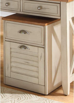 Beachcrest Home Bridgeview 2 Drawer Mobile File Cabinet