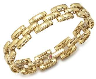 Roberto Coin 18K Yellow Gold Retro Bracelet