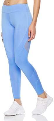 Mint Lilac Women's High Elastic Mesh Workout Pants