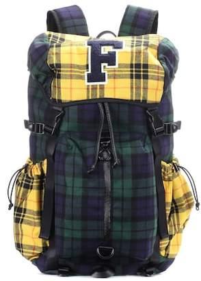 Rihanna Fenty by Hike plaid backpack