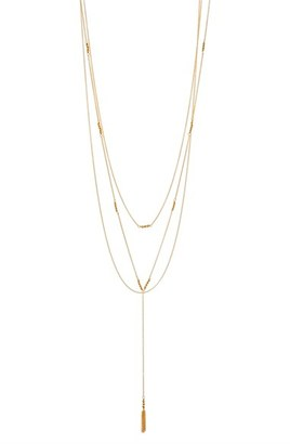 Women's Gorjana Joplin Multistrand Lariat Necklace $95 thestylecure.com