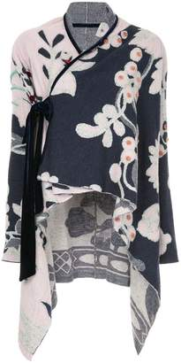 Onefifteen floral pattern loose jacket